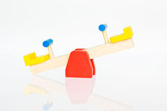 Seesaw Royalty Free Stock Images
