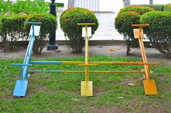 Seesaw board Royalty Free Stock Photos
