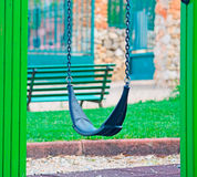 Seesaw in a park Royalty Free Stock Images
