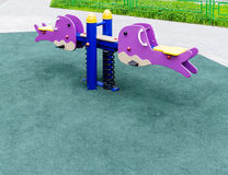 Seesaw for playground Royalty Free Stock Photos