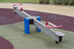 Seesaw. Royalty Free Stock Photography