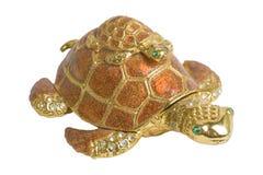 Seeschildkröten dekorativ   Getrennt Lizenzfreie Stockfotos