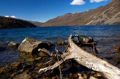 Seeseite auf dem Hochland in Sichuan China Stockfotos