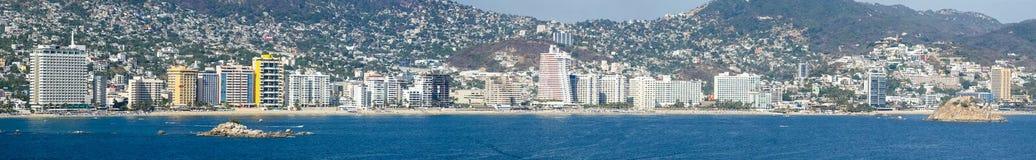 Seeseite von Acapulco Lizenzfreie Stockfotos