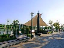 Seeseite von Rostov- On Donstadt Lizenzfreie Stockfotografie