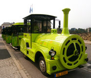 Seesighting Train Royalty Free Stock Photography