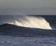 Seespray auf bewegten Seen Lizenzfreies Stockbild