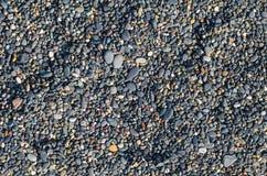 Seestrand bedeckt mit pebles stockbilder