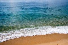Seestrand in Spanien Lizenzfreies Stockbild