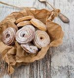 Seet fresh cookies Stock Photography