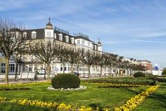 Seetel Romantik Seehotel Ahlbecker Hof in Ahlbeck Stockfotografie