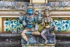 Seetha阿曼印度寺庙,斯里兰卡 免版税库存照片
