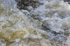 Seething water. As a background Stock Image