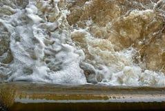 Seething water Stock Image