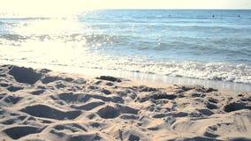Seeufer das Meer stock footage