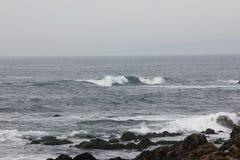 Seeufer entlang China-Felsen, 17 Meilen-Antrieb, Kalifornien, USA Lizenzfreie Stockfotografie