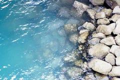 Seeufer-Ozean Wasser Stockfotografie