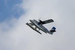 Seevogelfluglinienseeflugzeug Lizenzfreie Stockbilder