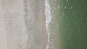 Seevogelperspektiveclip Draufsicht, erstaunlicher Naturhintergrund stock footage