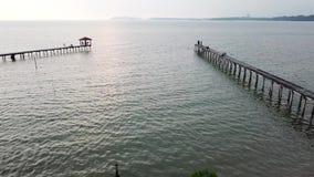 Seevogelperspektiveclip Draufsicht, erstaunlicher Naturhintergrund stock video footage