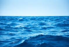 Seewellen Stockbild