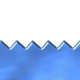 Seewellen Lizenzfreie Stockbilder