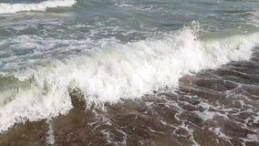 Seewellensommer-Zeitlupeschönheit stock footage