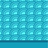 Seewellenzusammenfassung   Hintergrund Stockbild