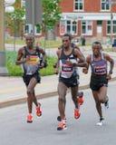 Sefir wins Ottawa Marathon 2016 Royalty Free Stock Photo