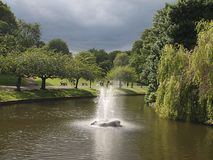 Sefton Park is a public park in south Liverpool, England. The park is in a district of the same name, located roughly within the historic bounds of the large royalty free stock images