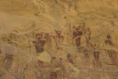 Seg jaru bariery skały sztuki panel Zamknięty W górę obrazy royalty free