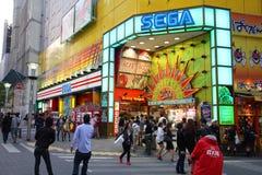 Sega in Ikebukuro, Tokyo Royalty-vrije Stock Foto