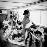Sega tanczy, Mauritius wyspa Zdjęcia Royalty Free