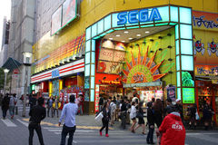 Sega w Ikebukuro, Tokio Zdjęcie Royalty Free