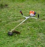 Segadeira de gramado Imagens de Stock