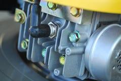 Segadeira de gramado engine3 Imagens de Stock