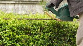 Segadeira elétrica para arbustos ao redor imagem de stock royalty free