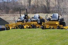 Segadeiras de gramado Fotografia de Stock Royalty Free