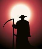 Segador de la muerte Imagen de archivo libre de regalías
