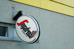 Segafredo is in bad shape Royalty Free Stock Photo