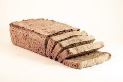 Segale del pane scuro compitata Fotografia Stock