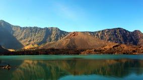 Segara Anak jezioro Fotografia Royalty Free
