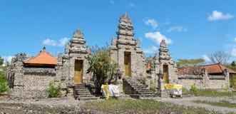 Segara Giri Gilimenjangan Temple. Is a temple made of coral on the Menjangan island West of Bali Stock Image