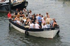 Segel Amsterdam stockfotos