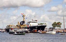 Segel Amsterdam 2010 - Segel-in der Parade Lizenzfreie Stockfotos