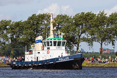 Segel Amsterdam 2010 - Segel-in der Parade Lizenzfreies Stockbild