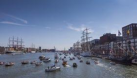 Segel Amsterdam Lizenzfreie Stockbilder