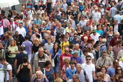Segel-Amsterdam-Massen Lizenzfreies Stockfoto
