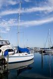 Segel-Boot im Ruhezustand Lizenzfreie Stockbilder
