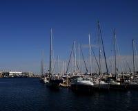 Segel-Boote Stockfotos